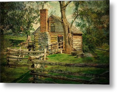 Mccormick Grist Mill Metal Print by Kathy Jennings