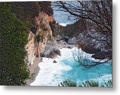 Metal Print featuring the photograph Mcway Falls In Spring by Tonia Noelle