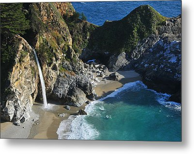 Metal Print featuring the photograph Mcway Falls by Lynn Bauer
