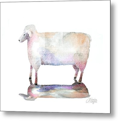 Me And My Colorful Shadow Metal Print by Arline Wagner