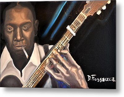 Me And The Devil Blues-robert Johnson Metal Print