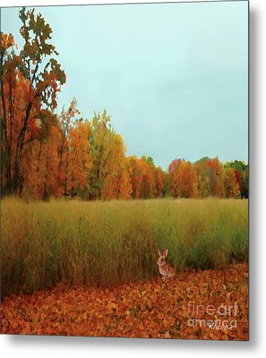 Metal Print featuring the digital art Meadow by David Klaboe