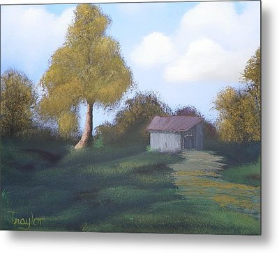 Meadow's Edge Metal Print by Amity Traylor