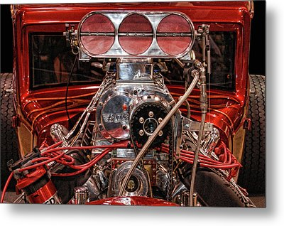 Metal Print featuring the photograph Mechanicals 101 The Go Part by Bill Dutting