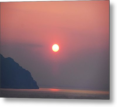 Medaterainian Sunset Metal Print by Bill Cannon