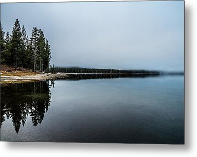 Metal Print featuring the photograph Medicine Lake  by Randy Wood