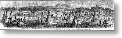 Medicine Lodge Creek, 1867 Metal Print by Granger
