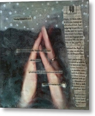 Meditating Realities Metal Print by Holly  Suzanne