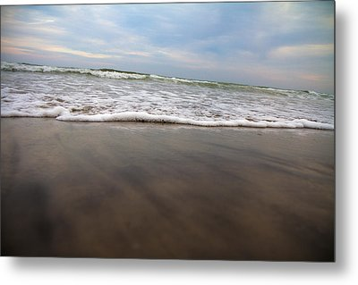 Meditative Forces Metal Print by Betsy Knapp