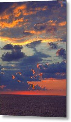 Mediterranean Sky Metal Print by Mark Greenberg