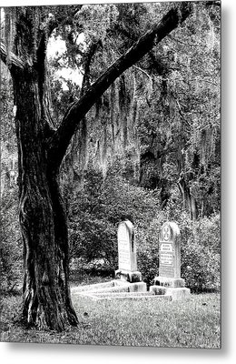 Meet Me At The Old Tree Metal Print