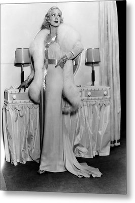 Melody In Spring, Ann Sothern, 1934 Metal Print by Everett