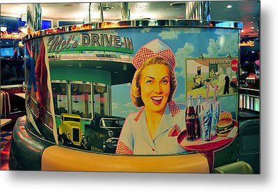 Mels Drive In Metal Print by David Lee Thompson