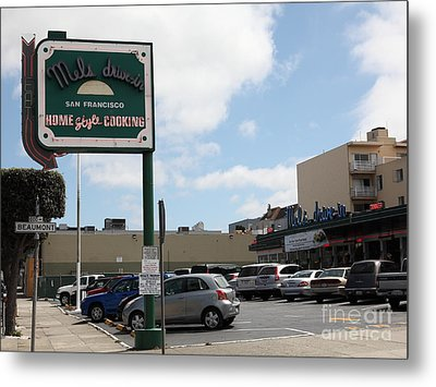 Mel's Drive-in Diner In San Francisco - 5d18045 Metal Print by Wingsdomain Art and Photography