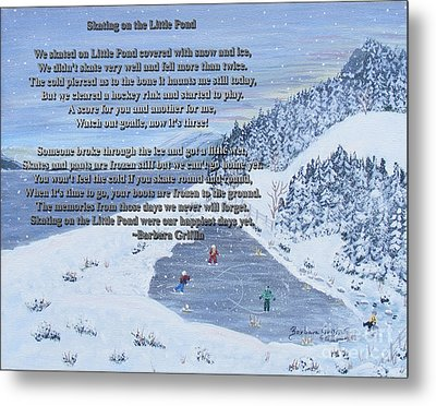 Memories Of A Little Pond Metal Print by Barbara Griffin