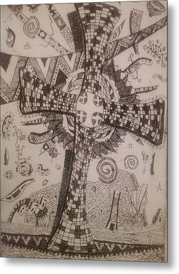 Memories Of The Homeland Metal Print by Branko Jovanovic