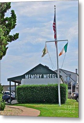 Memory Motel Metal Print