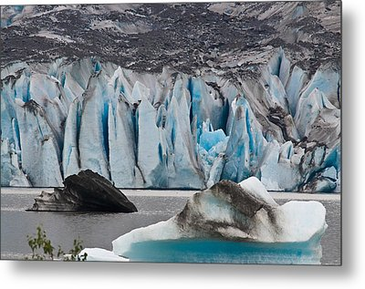 Mendenhall Glacier Juneau Alaska 1698 Metal Print by Michael Bessler