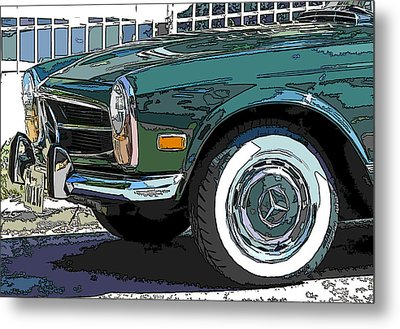 Mercedes Benz 280sl Roadster 2 Metal Print