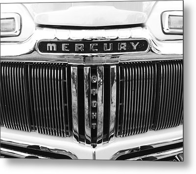 Mercury Grill  Metal Print by Kym Backland