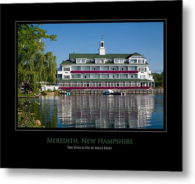 Meredith Inn Metal Print by Jim McDonald Photography