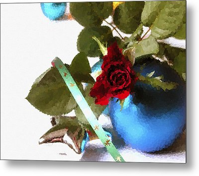 Merry Christmas Metal Print by Design Windmill