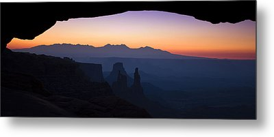 Mesa Dawn Metal Print by Andrew Soundarajan