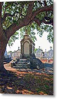 Metairie Cemetery Metal Print by Steve Harrington
