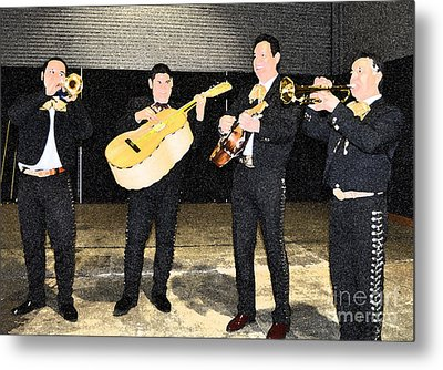 Mex Band Metal Print by Brent Easley