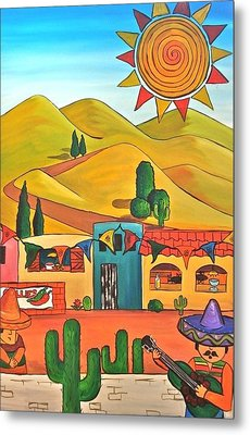 Mexican 2 Metal Print
