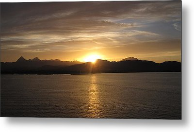 Metal Print featuring the photograph Mexican Sunset by Marilyn Wilson