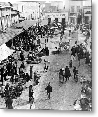 Mexico City - C 1901 Metal Print by International  Images