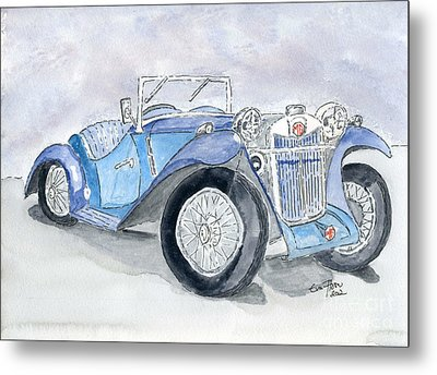 Metal Print featuring the painting Mg 1926 by Eva Ason