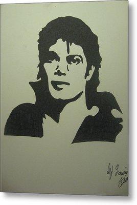 Michael Jackson Metal Print by Damian Howell