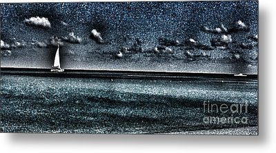 Midnight Cruise Metal Print