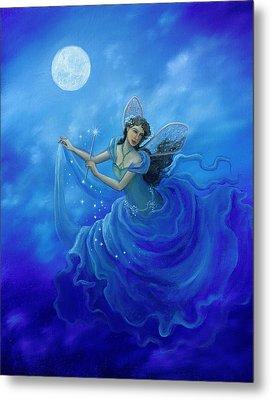 Midnight Fairy Metal Print by BK Lusk