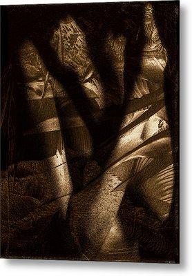 Midnight Mantis Metal Print