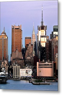 Midtown Manhattan 03 Metal Print by Artistic Photos
