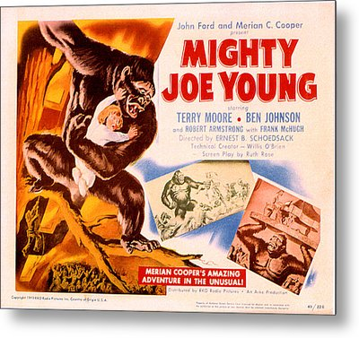 Mighty Joe Young, Terry Moore, 1949 Metal Print