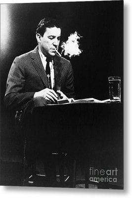 Mike Wallace (1918-2012) Metal Print by Granger