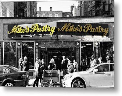 Mikes Pastry In Boston 2011 Metal Print by Joseph Duba
