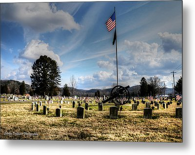 Military Honors Metal Print by Shirley Tinkham