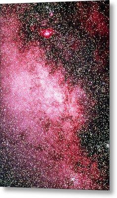 Milky Way Starfield Metal Print by Dr Juerg Alean