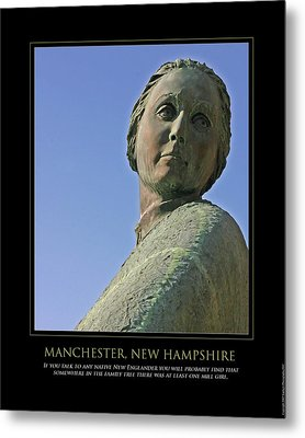 Mill Girl Metal Print by Jim McDonald Photography