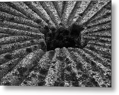 Metal Print featuring the photograph Mill Stone by Carrie Cranwill