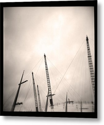 Metal Print featuring the photograph Millenium Dome Spires by Lenny Carter