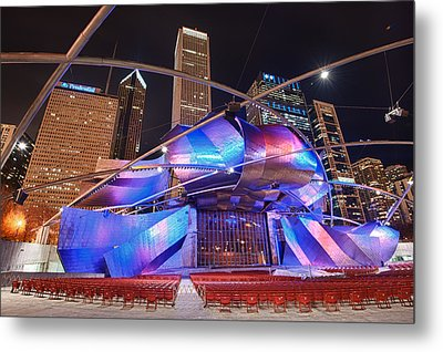 Metal Print featuring the photograph Millennium Park by Sebastian Musial