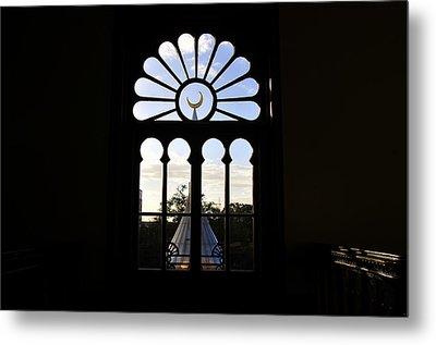 Minaret Through Window Metal Print by David Lee Thompson