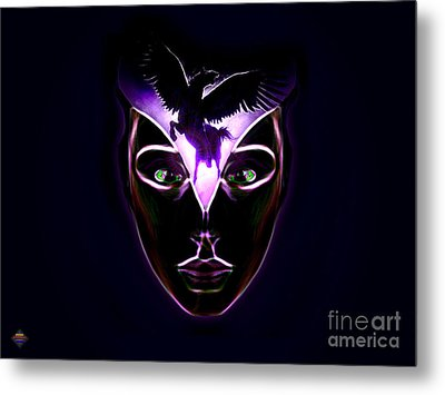 Mind Horsepower Metal Print by Vidka Art