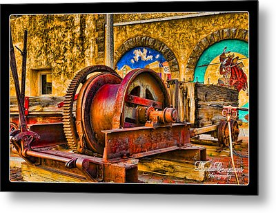 Mine Machinery Metal Print